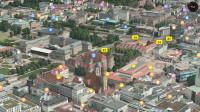 Flyover-Ansicht für Stuttgart