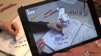 Augmented Reality Malbuch