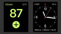 Apple Watch: Tool Clicker zählt hoch