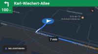 Google Maps navigiert auch offline