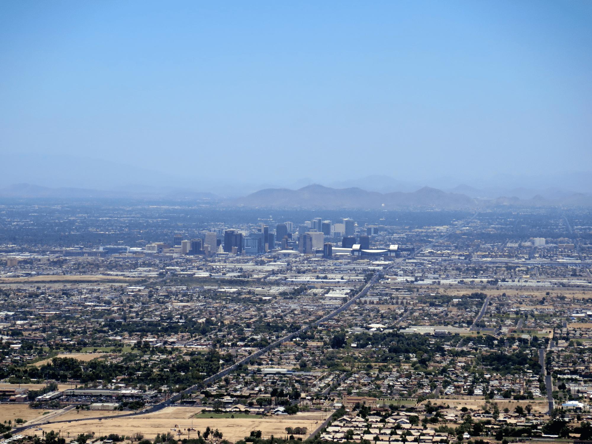 Bick auf Phoenix