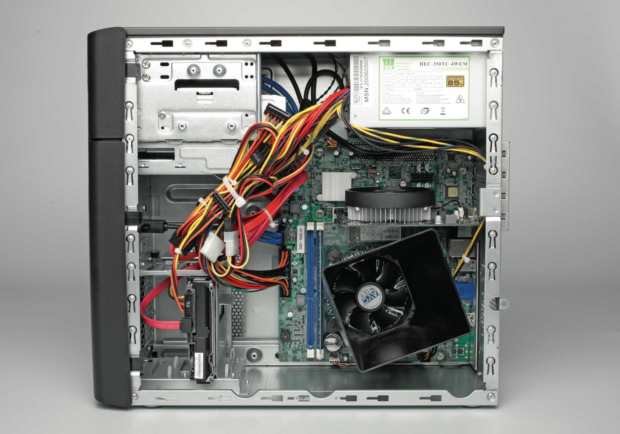 Aldi-PC Medion Akoya P5320 E innen