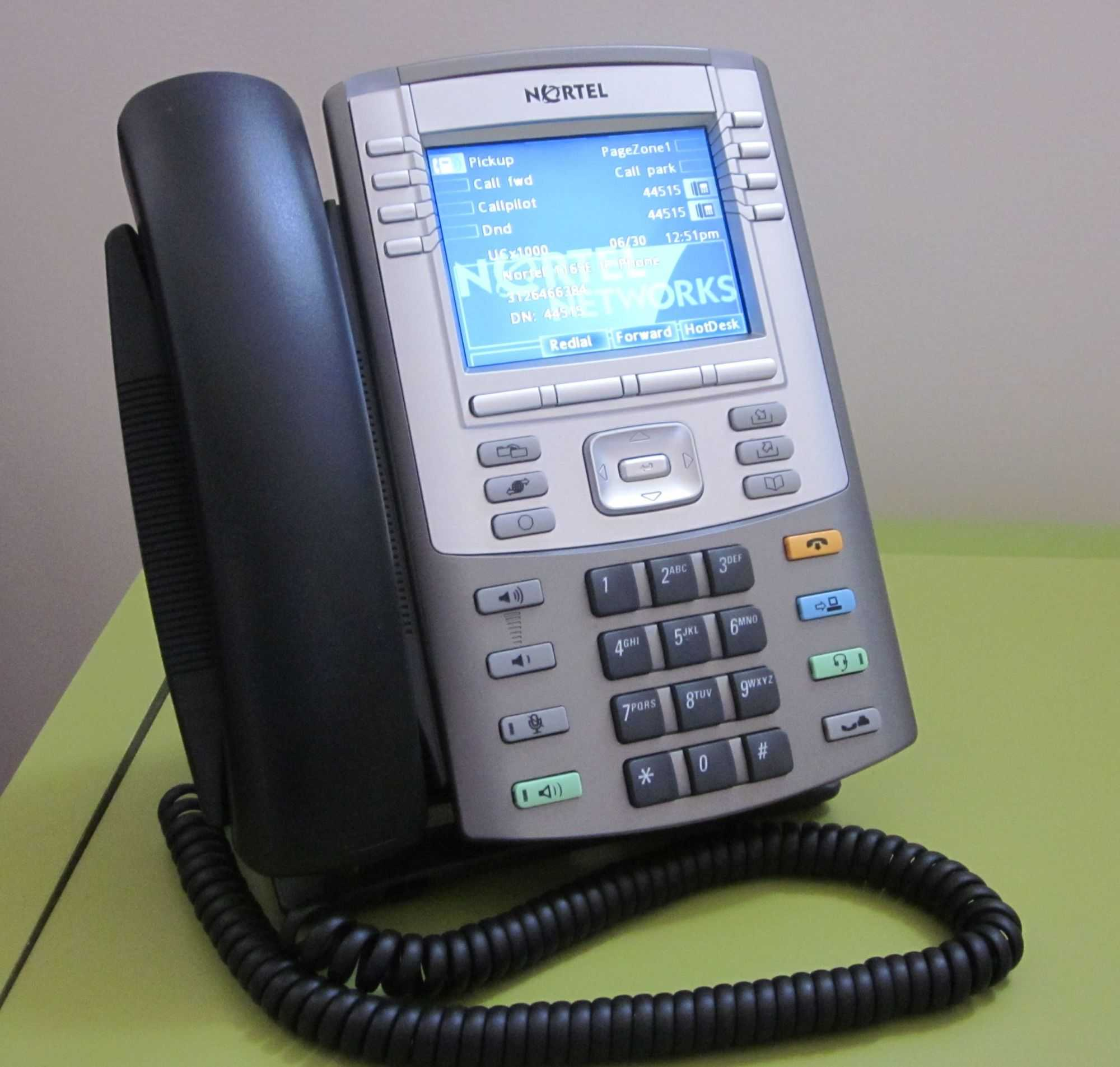 IP-Telefon Nortel 1165E