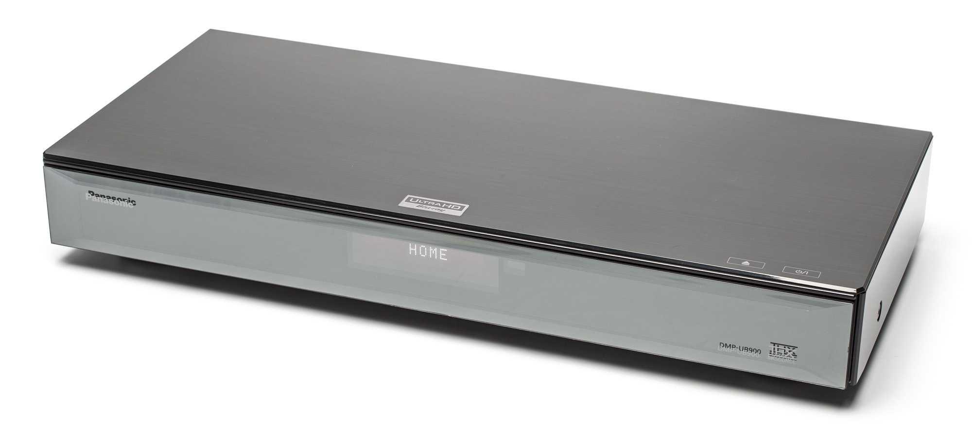 Der Standalone-Player von Panasonic (hier das Modell DMP-UB900) bieten ein Display, das Modell von Samsung nicht.