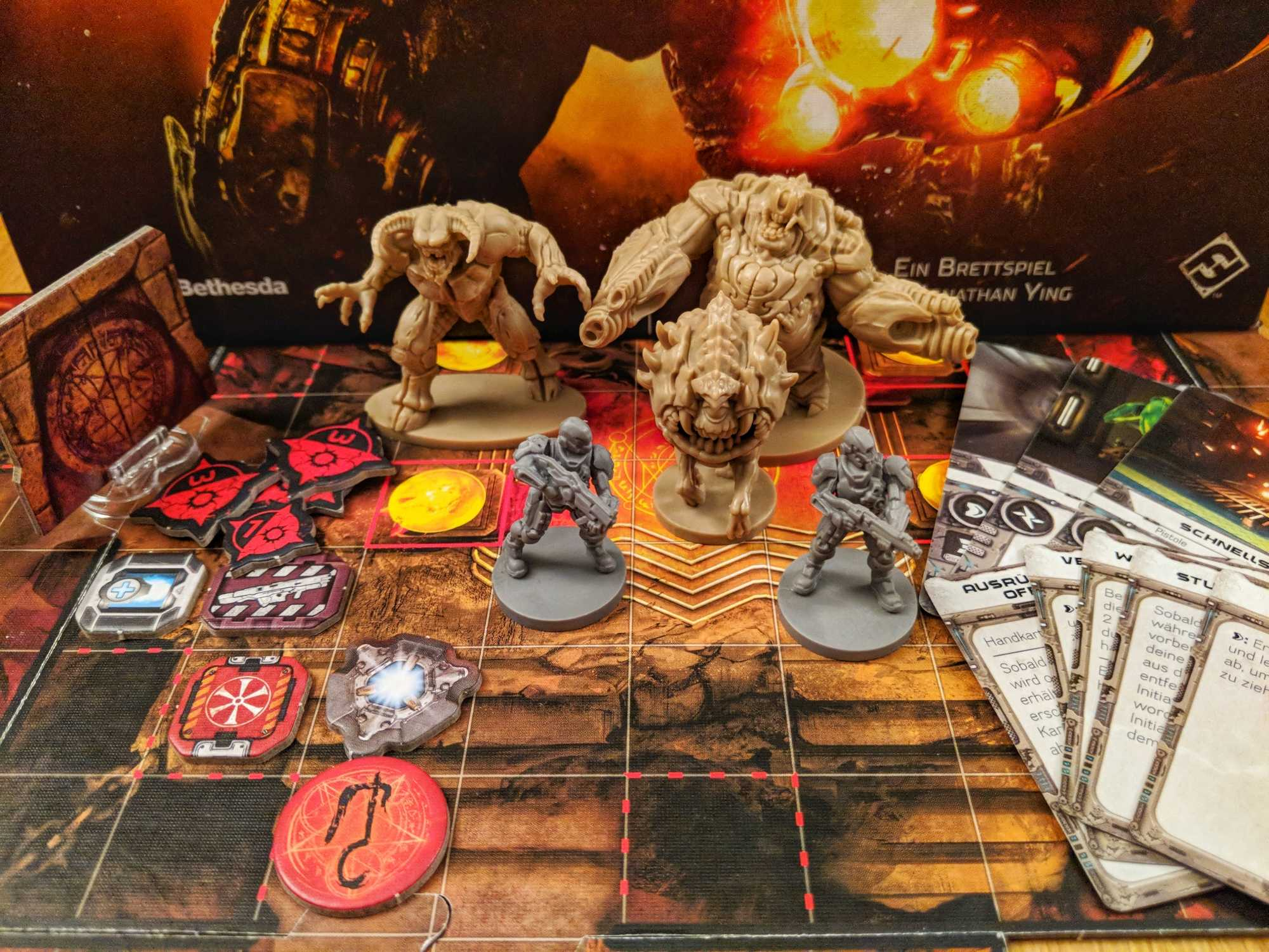 "Spielekritik: ""DOOM: The Board Game"""