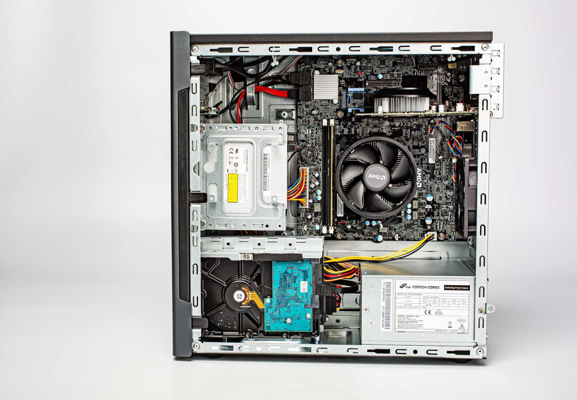 Der innere Aufbau des Medion Akoya P56005.