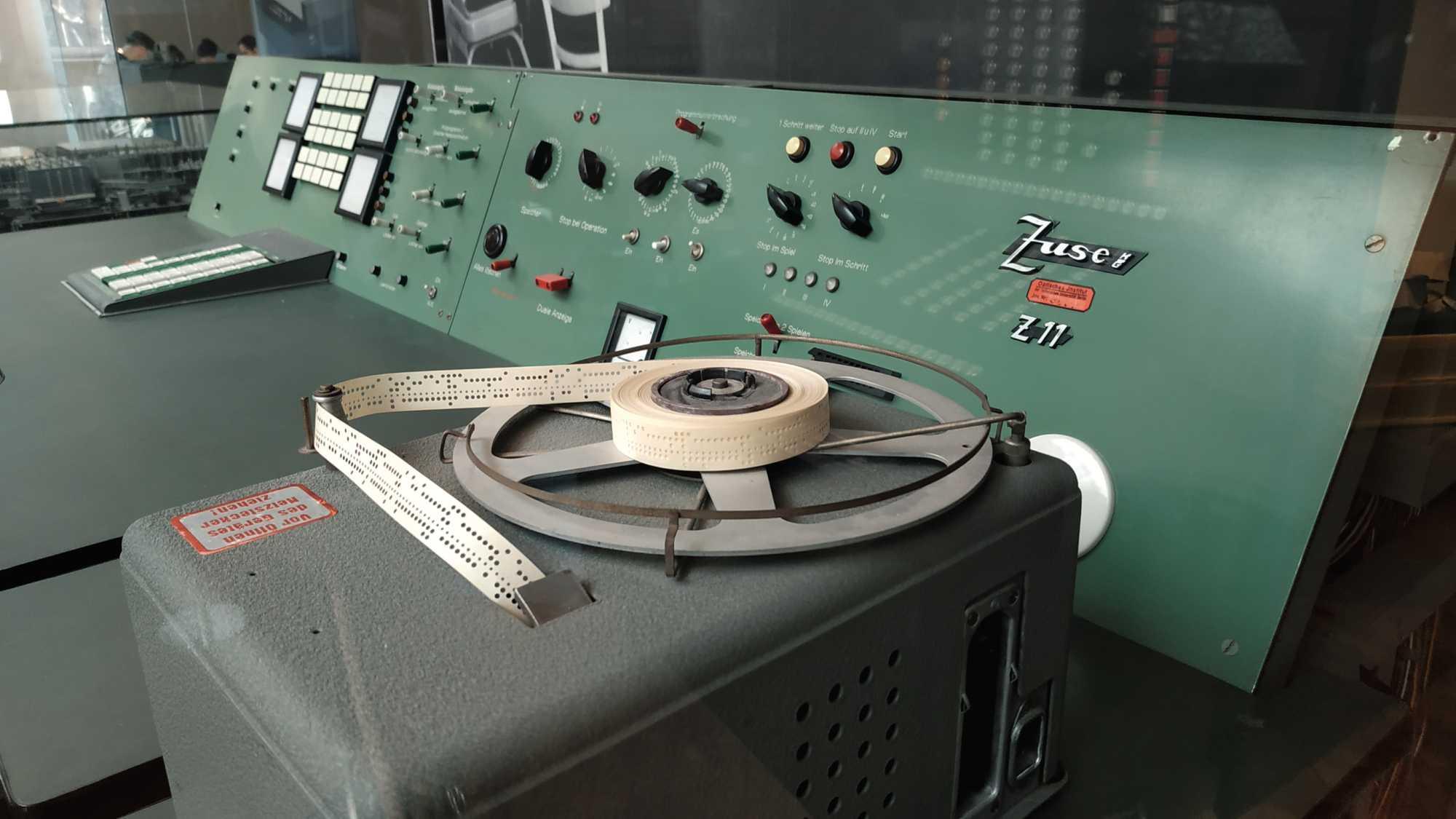 Klassiker der Rechnertechnik aus dem Hause Zuse gibt es im Deutschen Technikmuseum zu bestaunen.