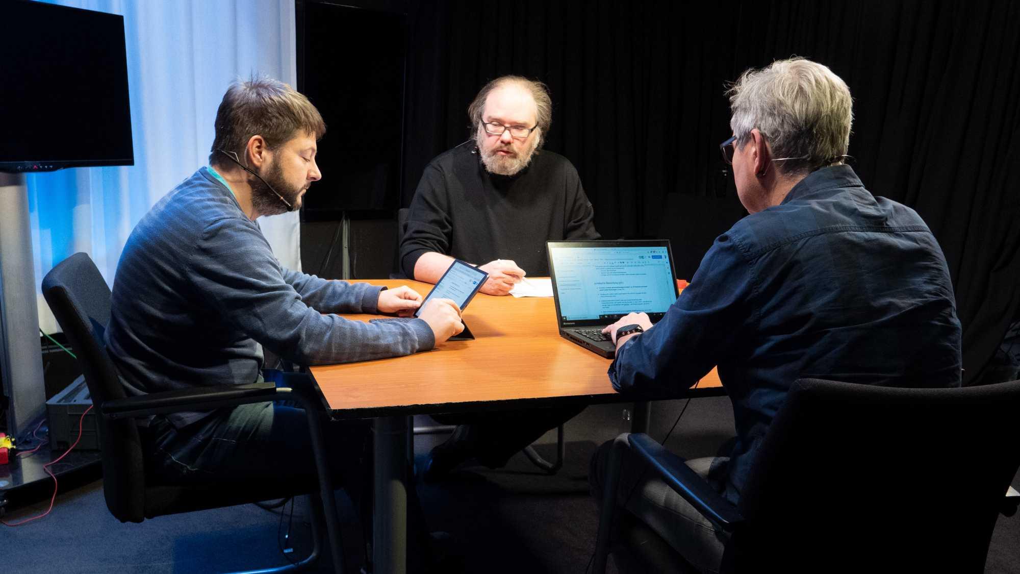Auslegungssache 5: Sebastian, Joerg, Holger
