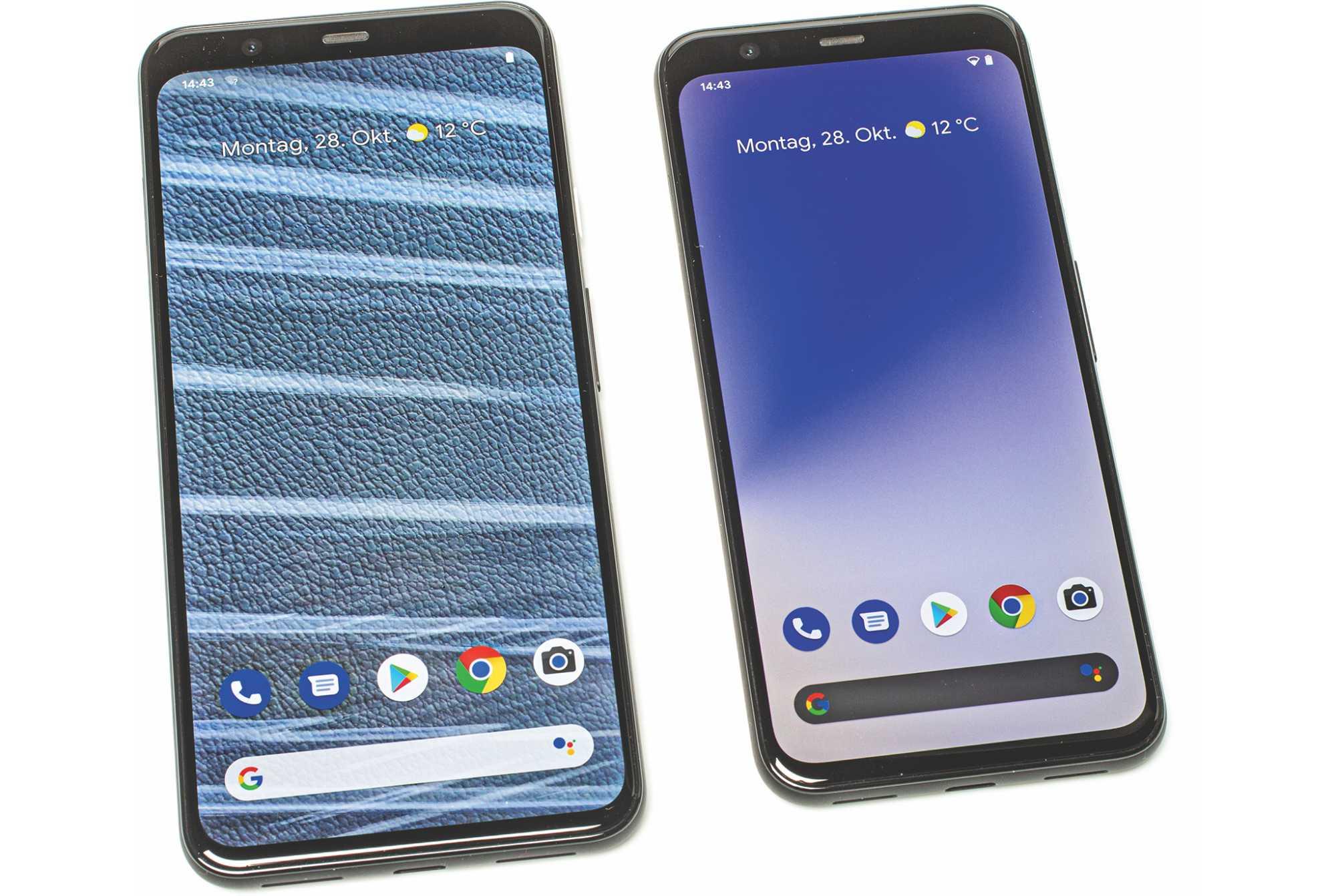 Googles neue Smartphones Pixel 4 und Pixel 4 XL besitzen eine radarbasierte Gestensteuerung.