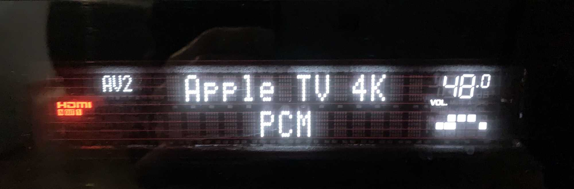 Dass das Apple TV (4K) den Ton von Videostreamingdiensten als PCM-Datenstrom an AV-Receiver ausgibt, irritiert viele Nutzer.