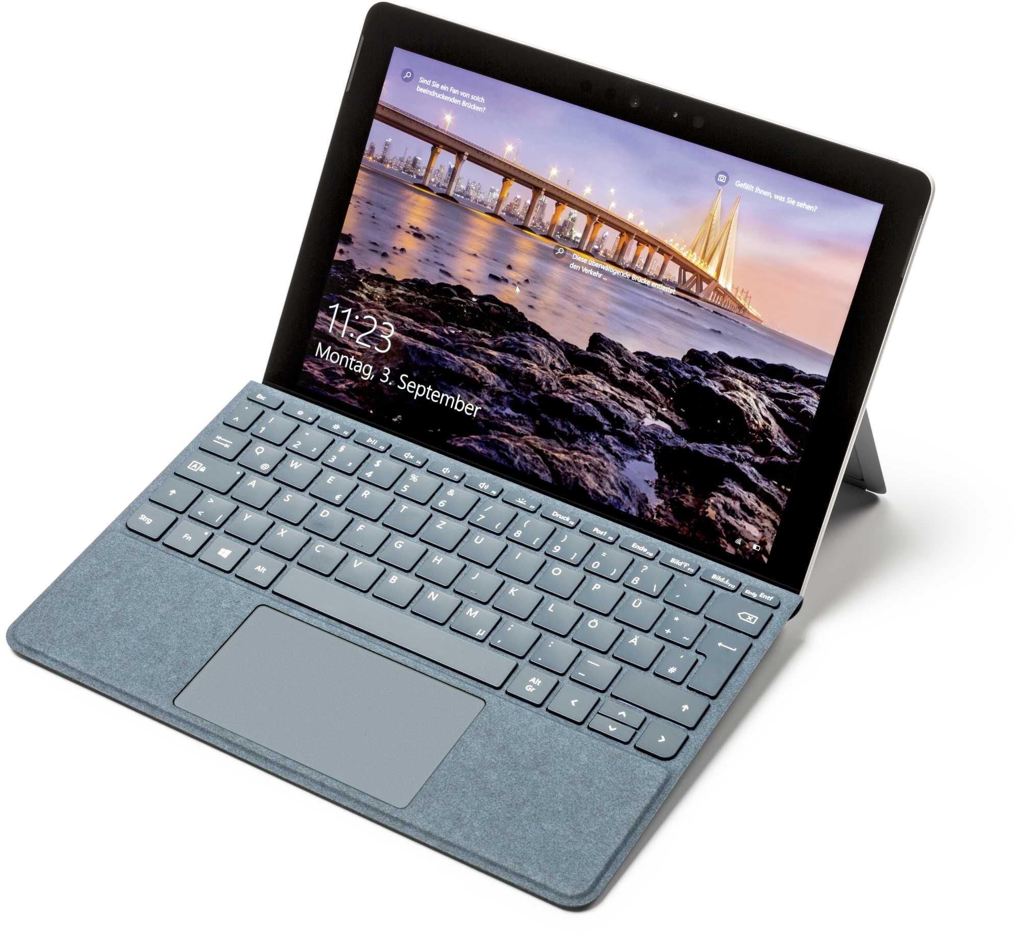 Fürs Arbeiten auf dem Schoß sind Tablets wackeliger als Notebooks.