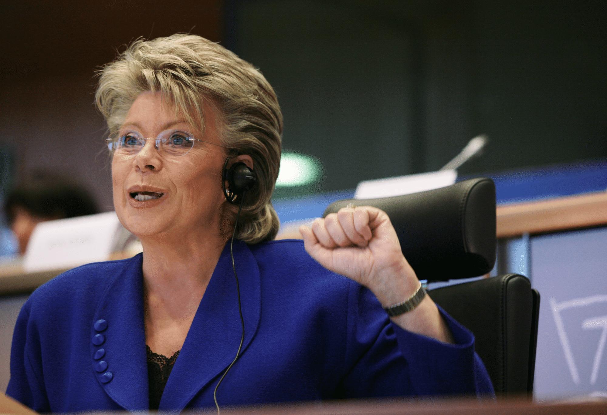 Viviane Reding, EU-Justizkommissarin und Vizepräsidentin der EU-Kommission, will beim EU-Datenschutzrecht Klarheit schaffen.
