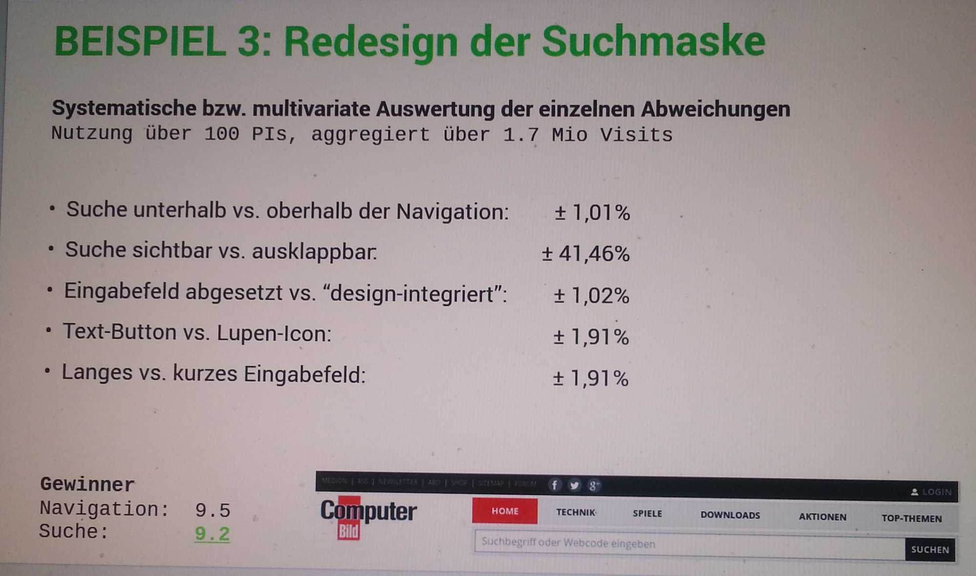 Code.Talks 2014 – GUI-Design, quantifiziert