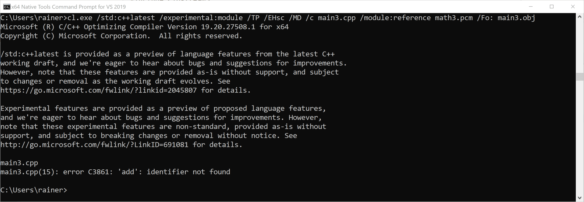 C++20: More Details zu Modulen