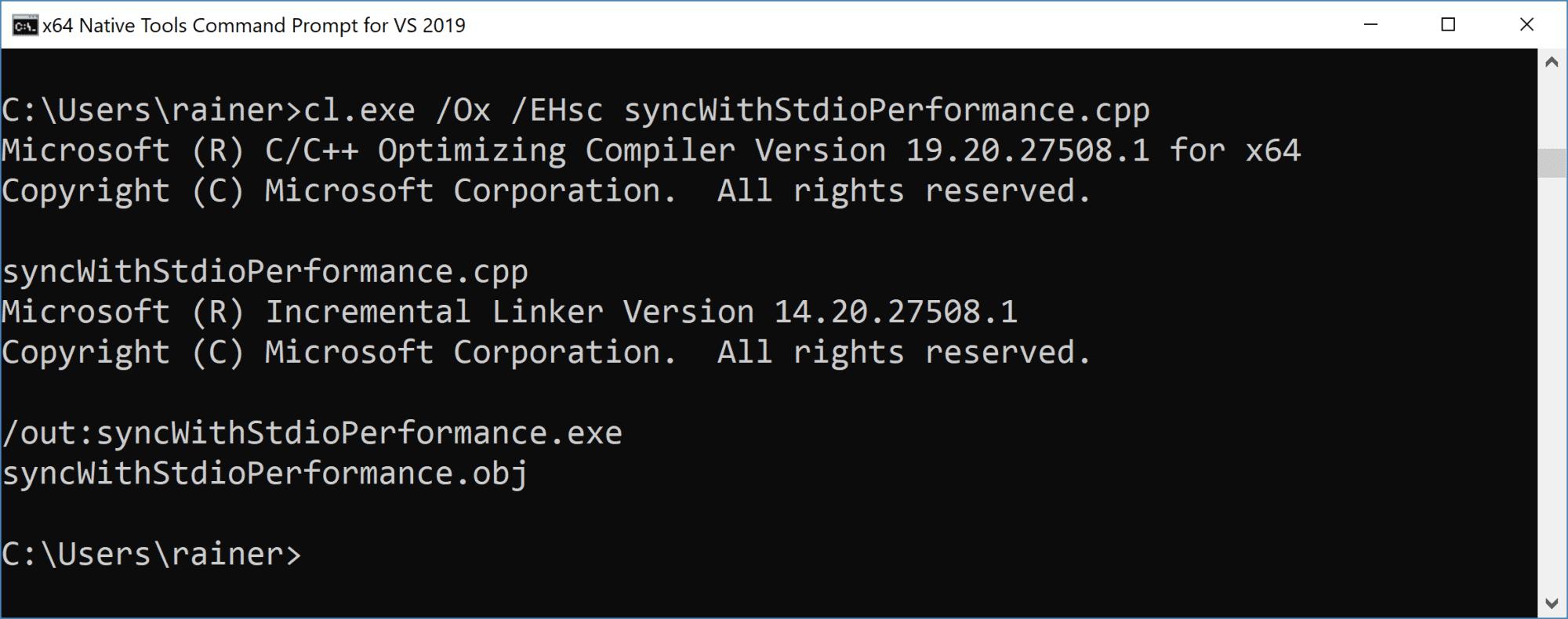 C++ Core Guidelines: Verbesserte Performanz mit then Ein- und Ausgabestreams