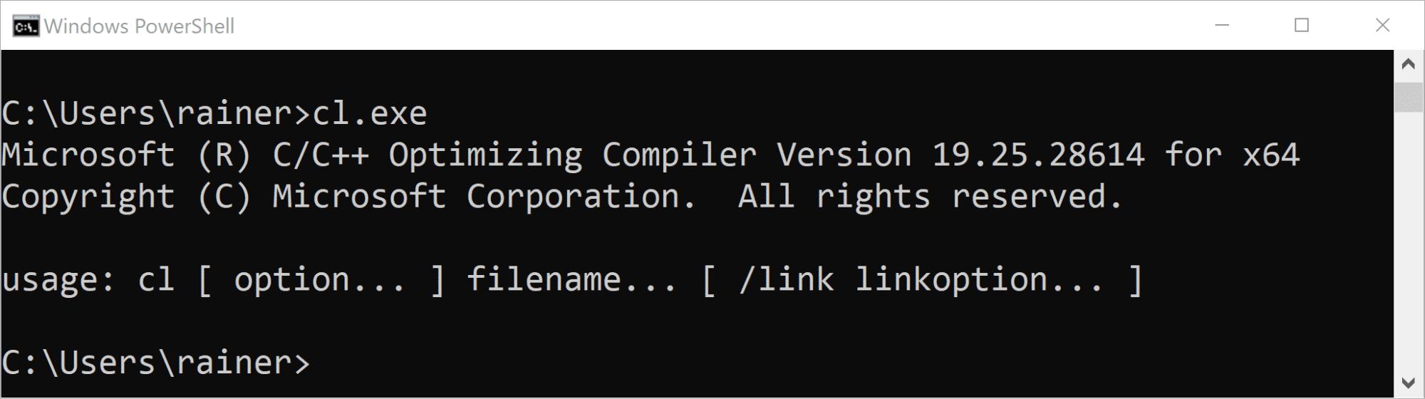 C++20: Ein einfaches math Modul