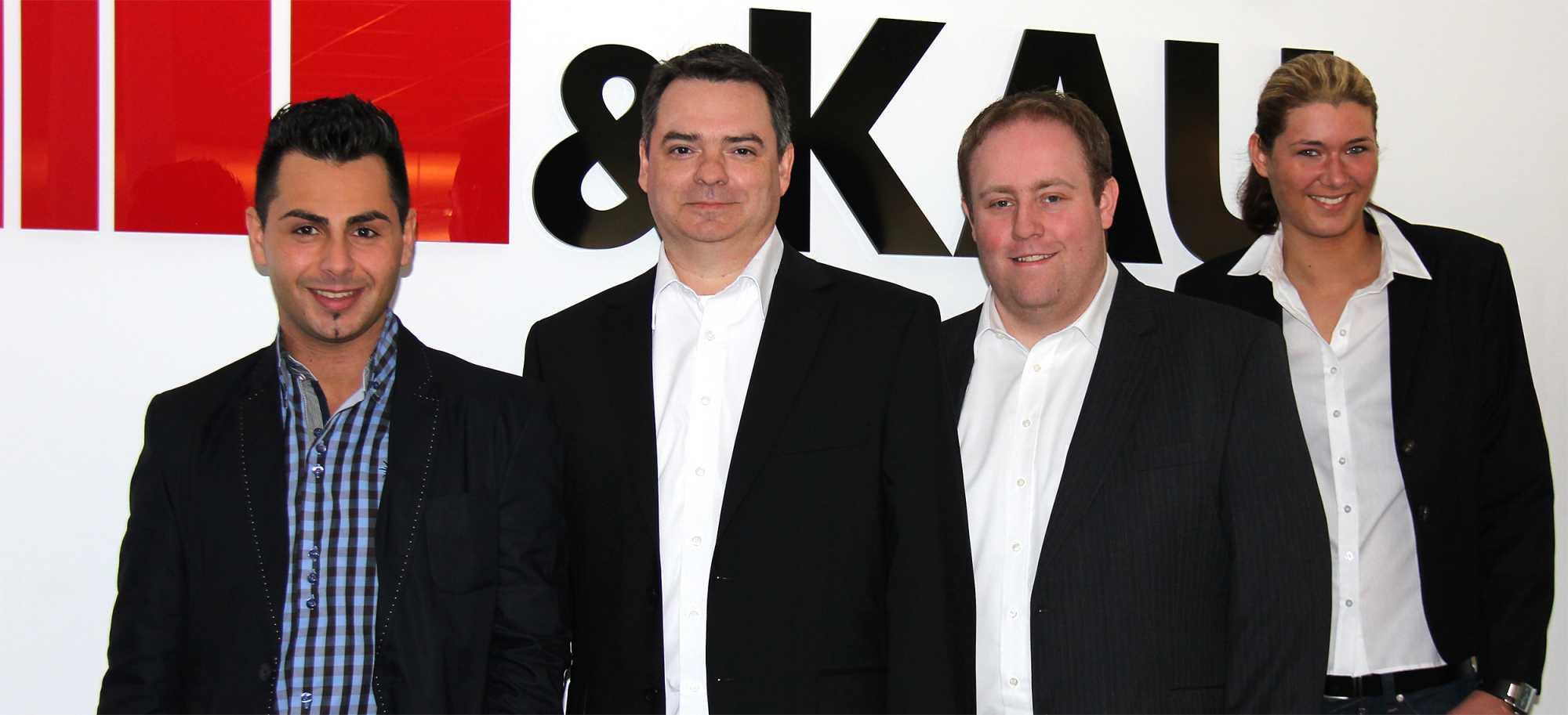 Vier neue  SMB-Vertriebler für Siewert &Kau