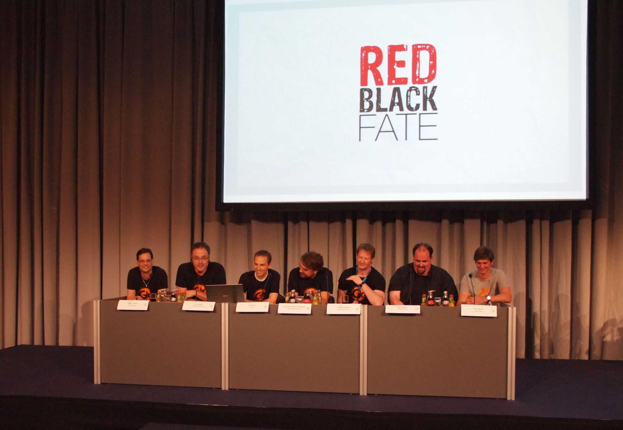 Sechs Studos, ein Projekt: Red. Black. Fate.