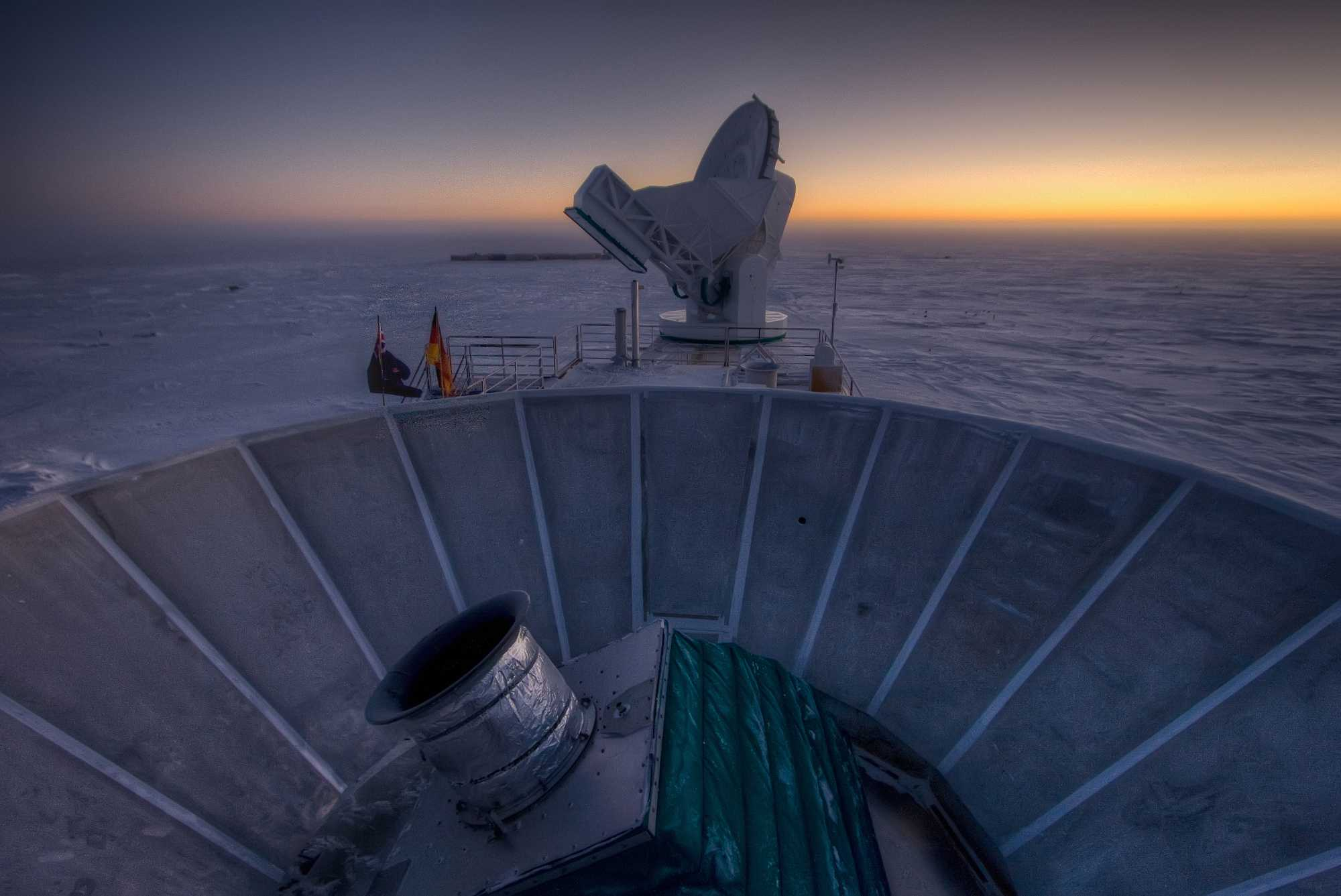 Das Instrument BICEP2 am Südpol