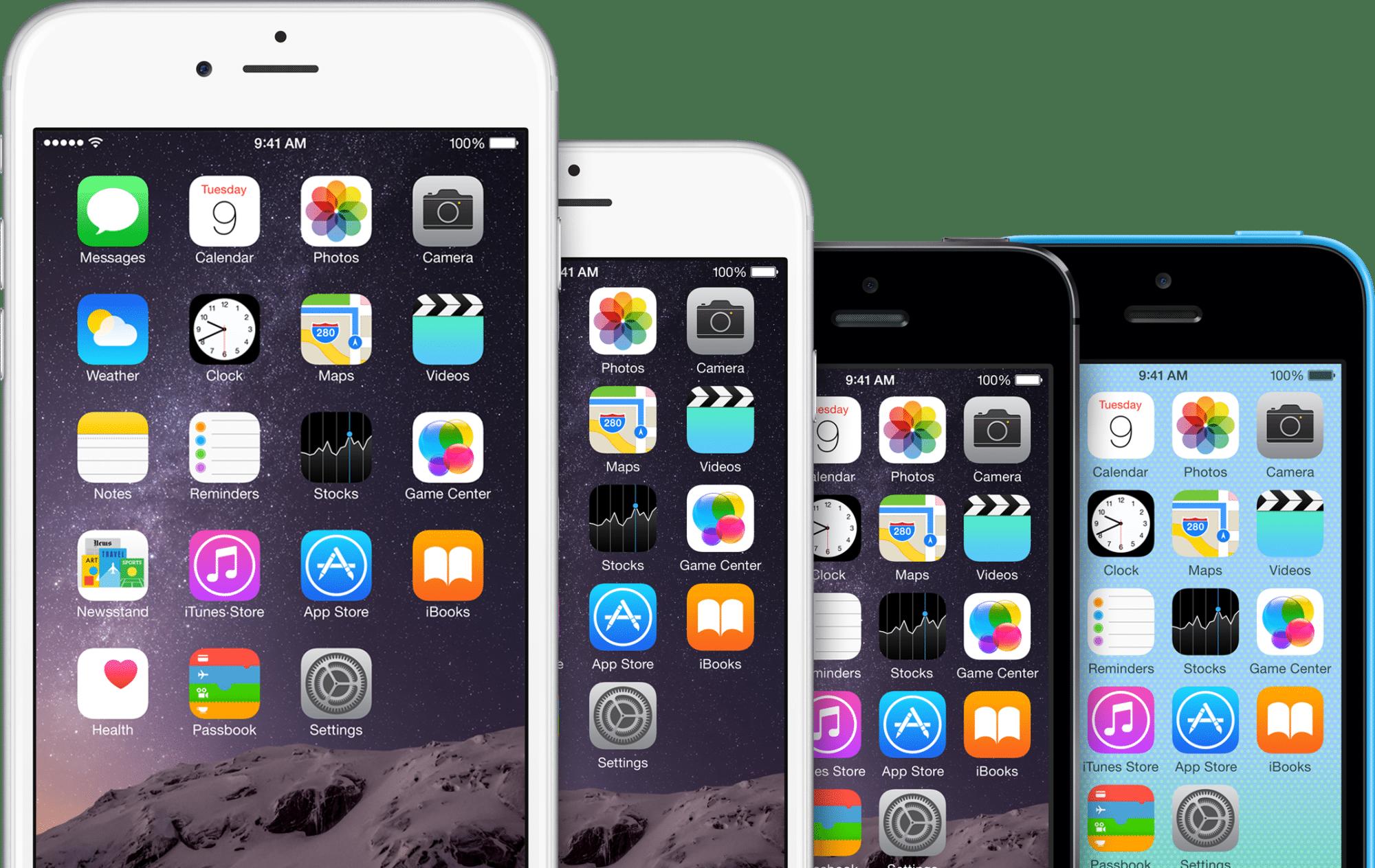 Apple bietet das iPhone nun in drei verschiedenen Größen an.