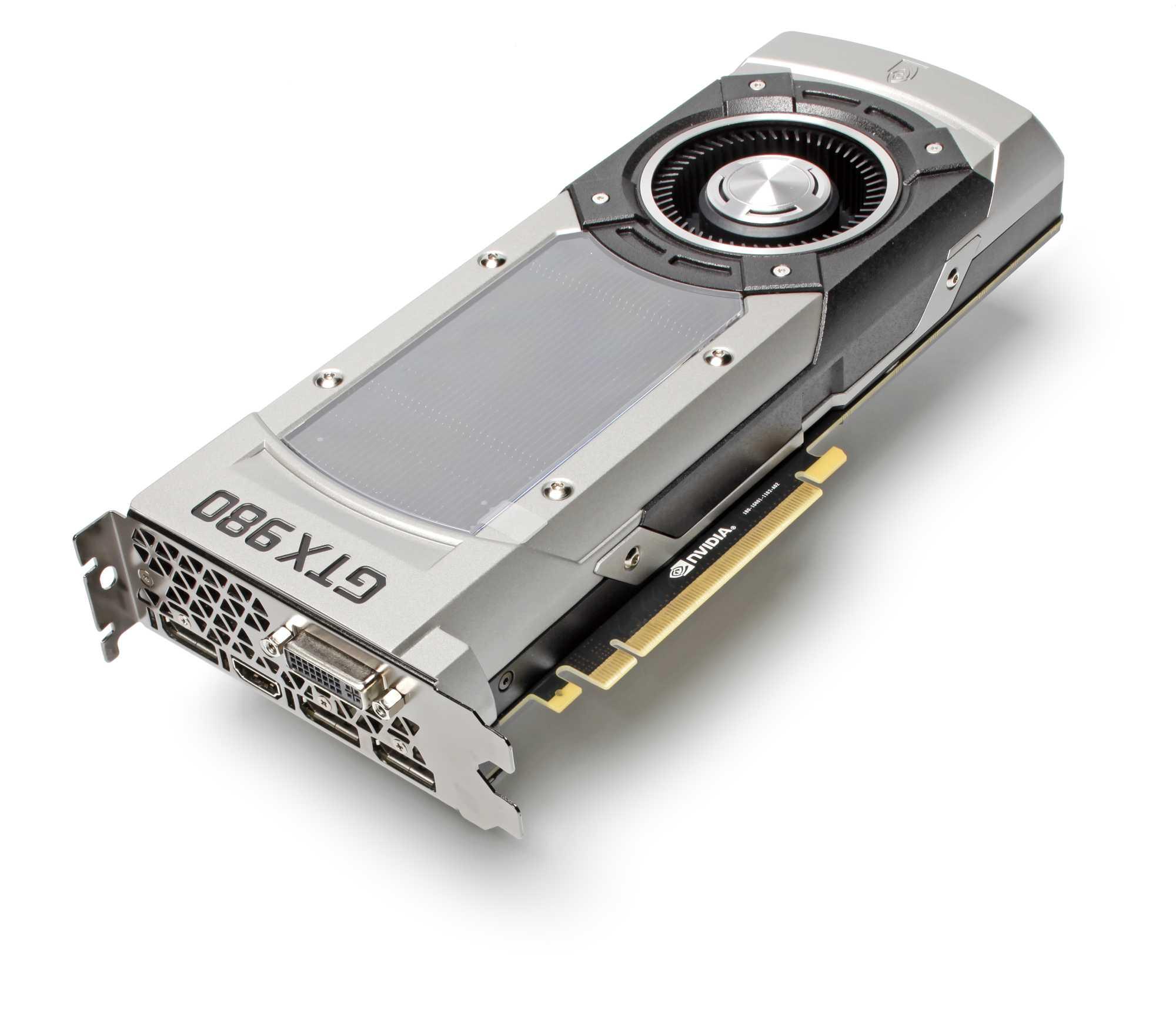Die GeForce GTX 980: Massig 3D-Leistung und hohe Effizienz.