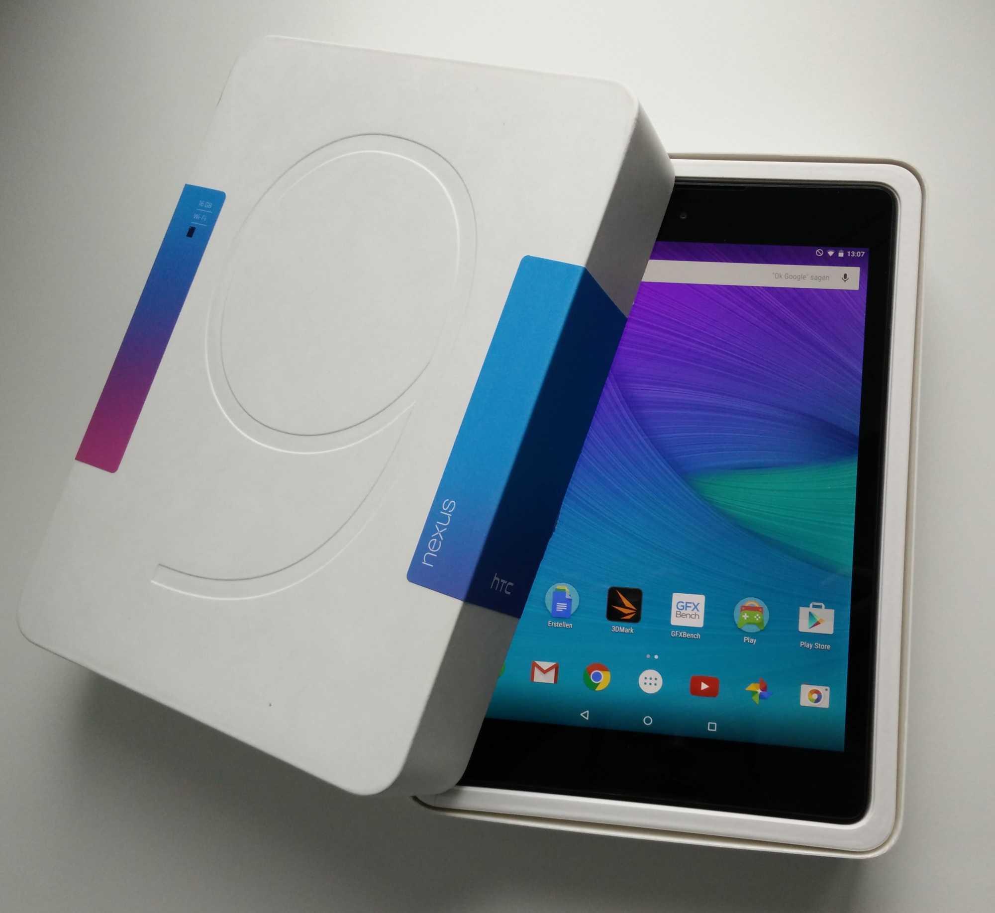 Als erstes Android-Tablet läuft das Google Nexus 9 mit 64 Bit und zeigt überragende Leistungswerte.