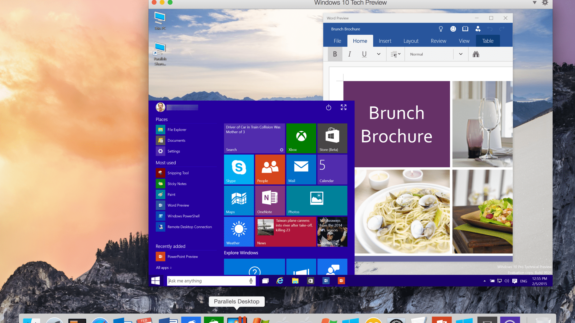 Parallels Desktop: Mac virtualisiert Windows 10