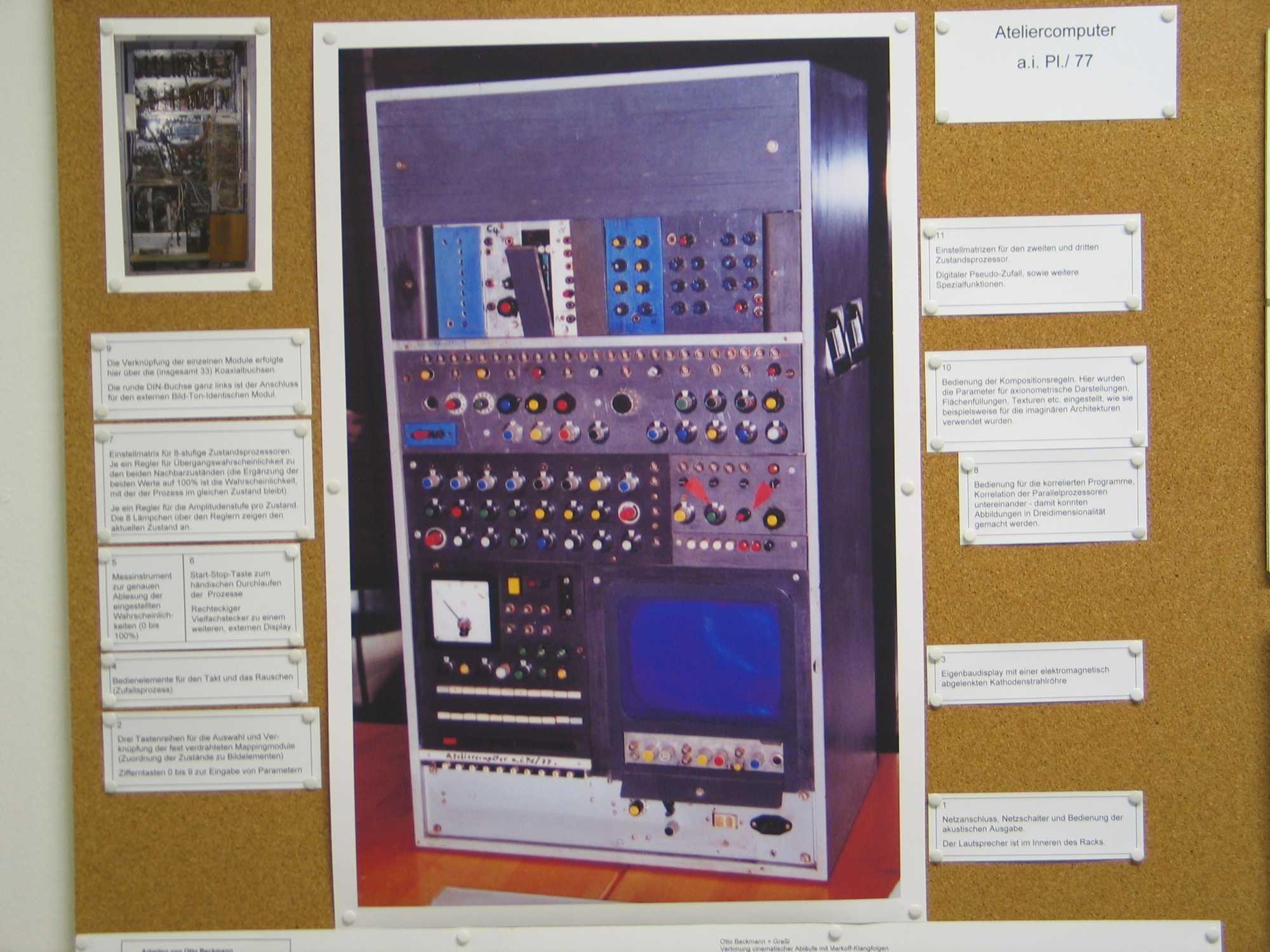 Atelier-Computer