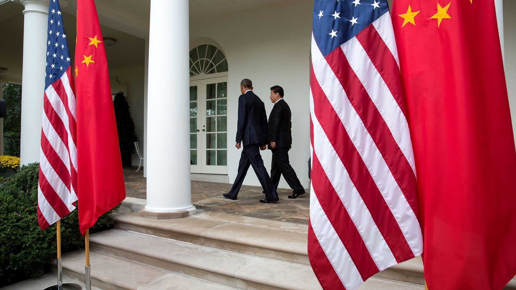 Obama und Xi gehen ein kleines Stück gemeinsam