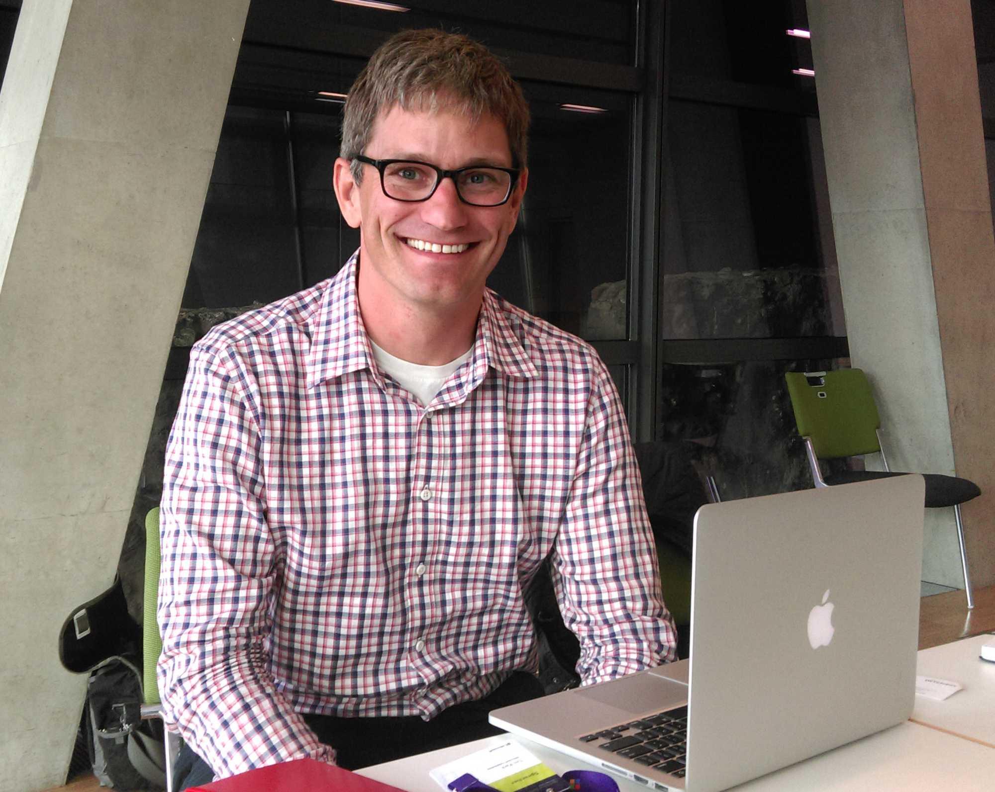 Tim Park ist nicht der erste Microsoft-Angestellte, der mit einem Mac-Rechner zu tun hat.