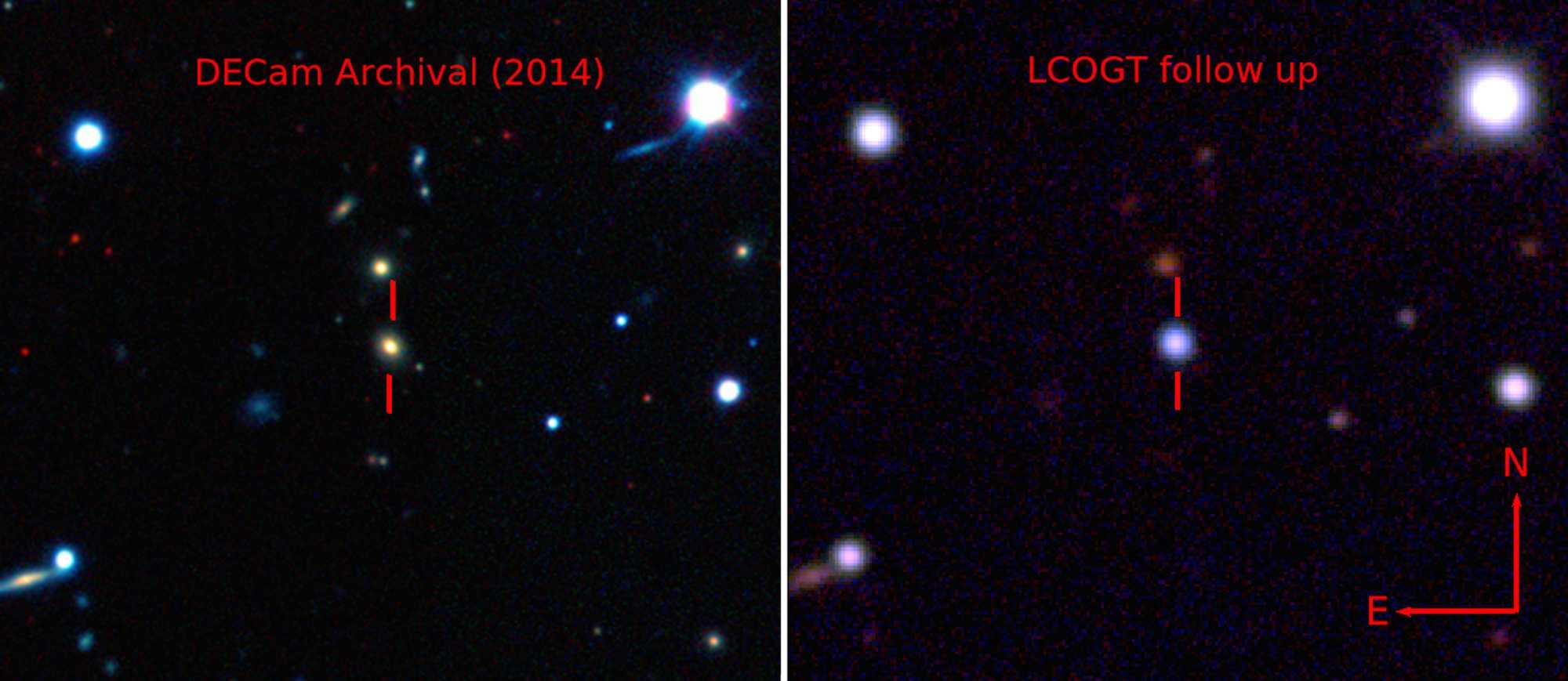 The Dark Energy Survey, B. Shappee and the ASAS-SN team