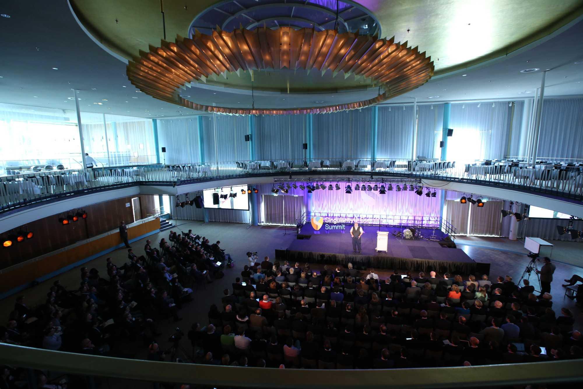 Der SingularityU Germany Summit fand im Palais am Berliner Funkturm statt.