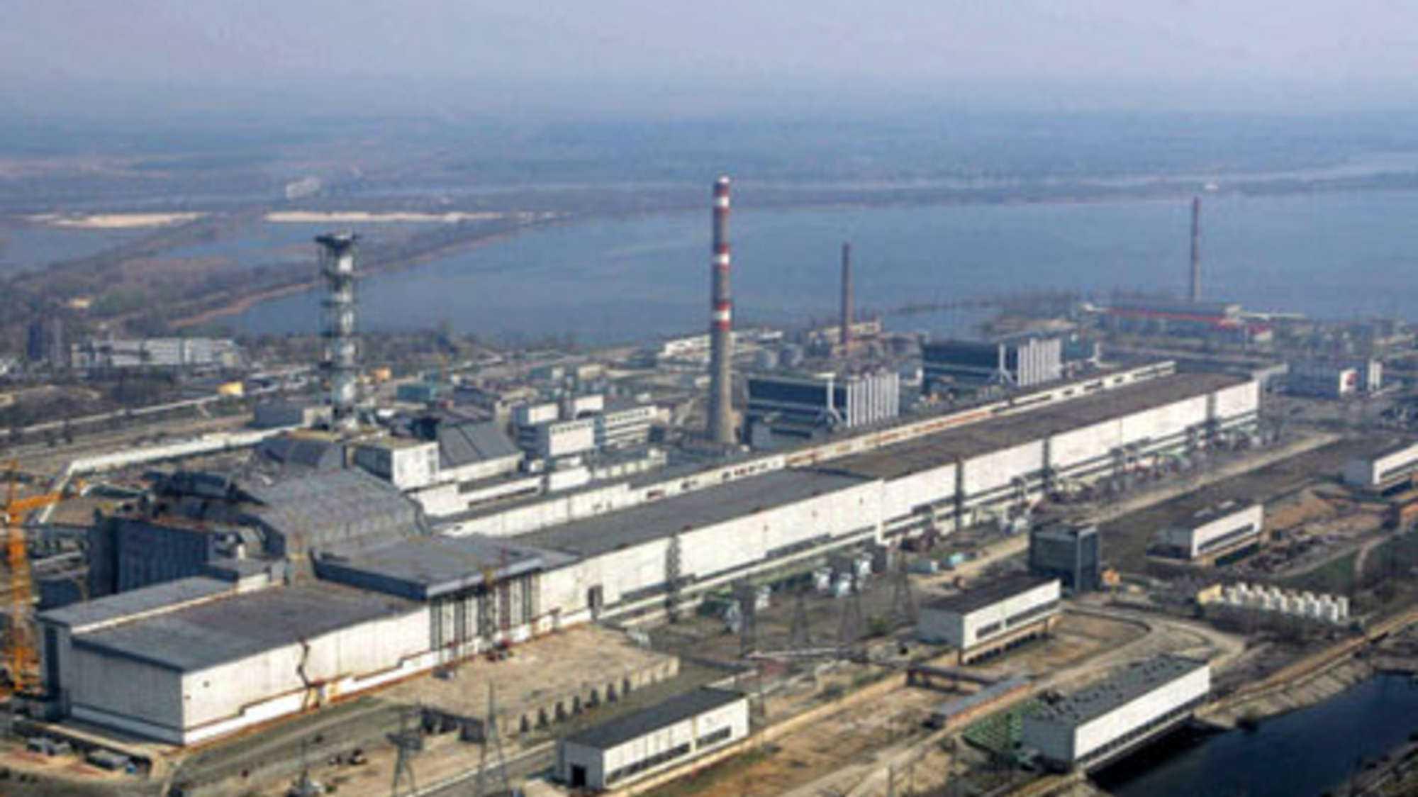 Das AKW von Tschernobyl