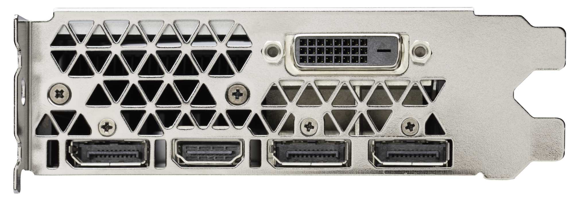 Die GeForce GTX 1060 bietet HDR-fähige Display-Anschlüsse. Via DisplayPort 1.4 kann sie sogar 5K-Displays mit 60 Hz und nur einem Kabel ansteuern.