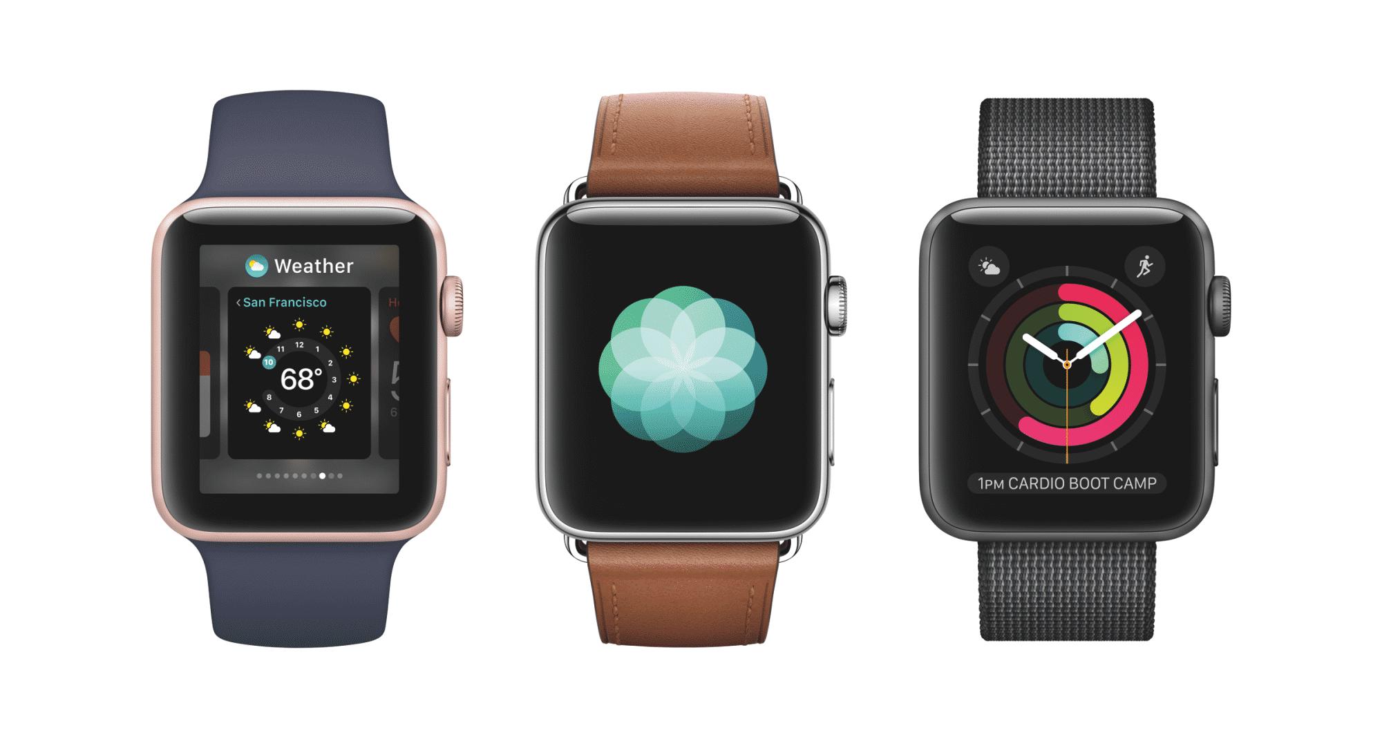 Apple Watch Series 2: Wasserdicht und mit GPS