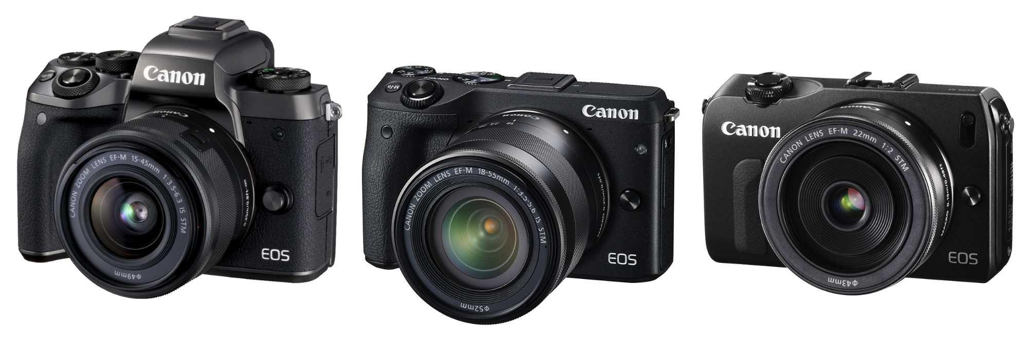 Canon EOS-M-Generationen