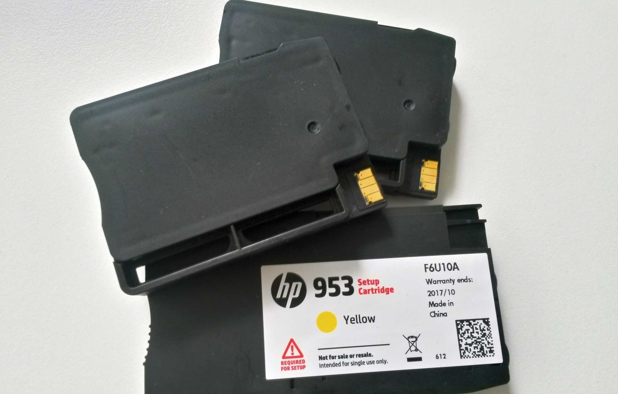 Mit dem Firmware-Update Mitte September blieben die OfficeJets auf HP-eigene Patronen beschränkt.