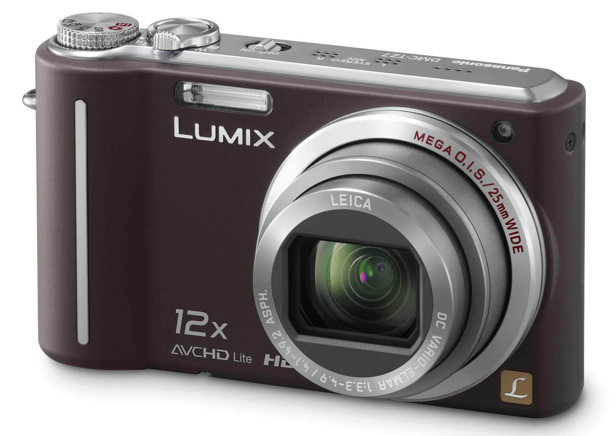 Die neue Lumix DMC-TZ7 mit AVCHD-Videomodus.