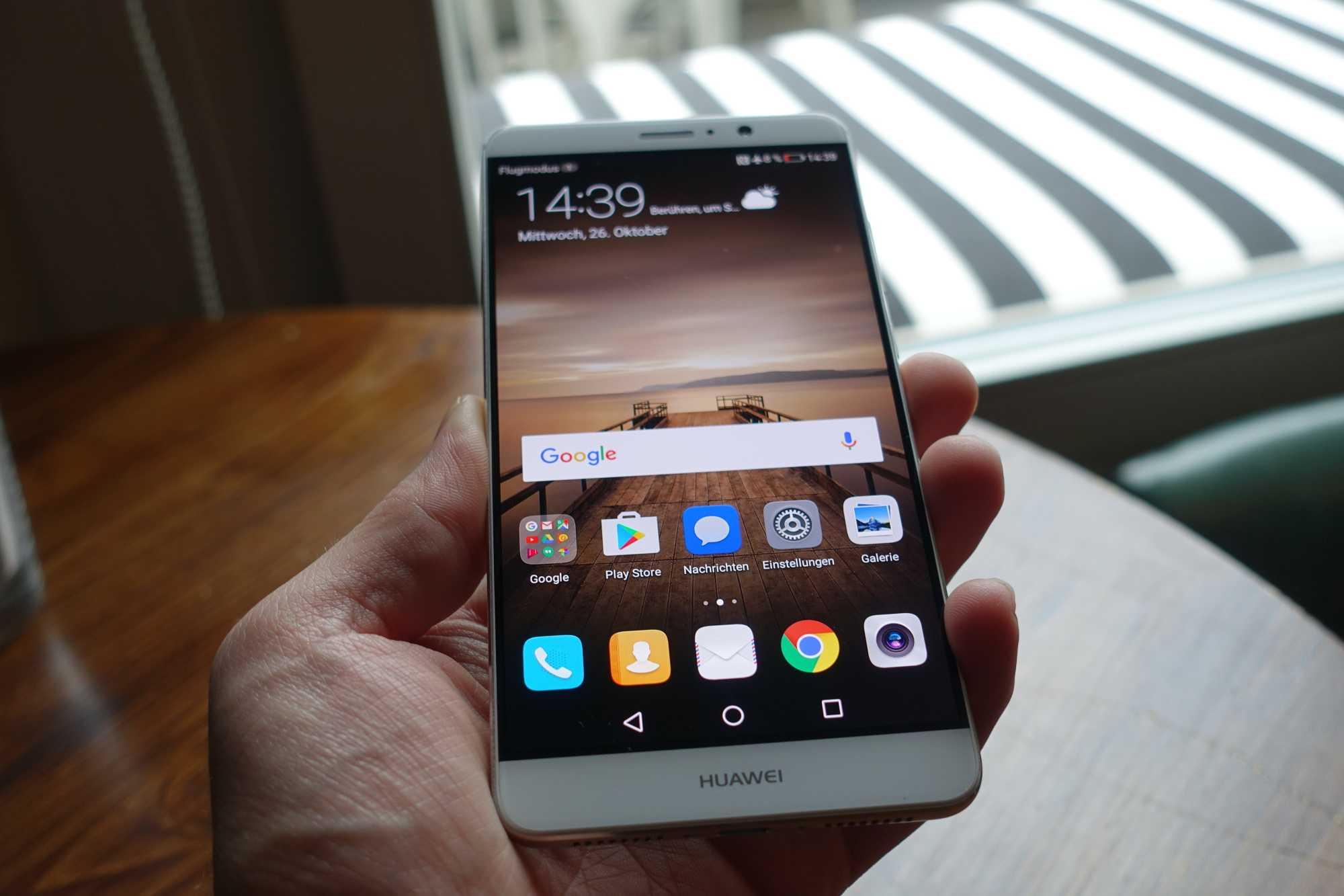 Huawei Mate 9: Riesen-Smartphone mit großen Hoffnungen