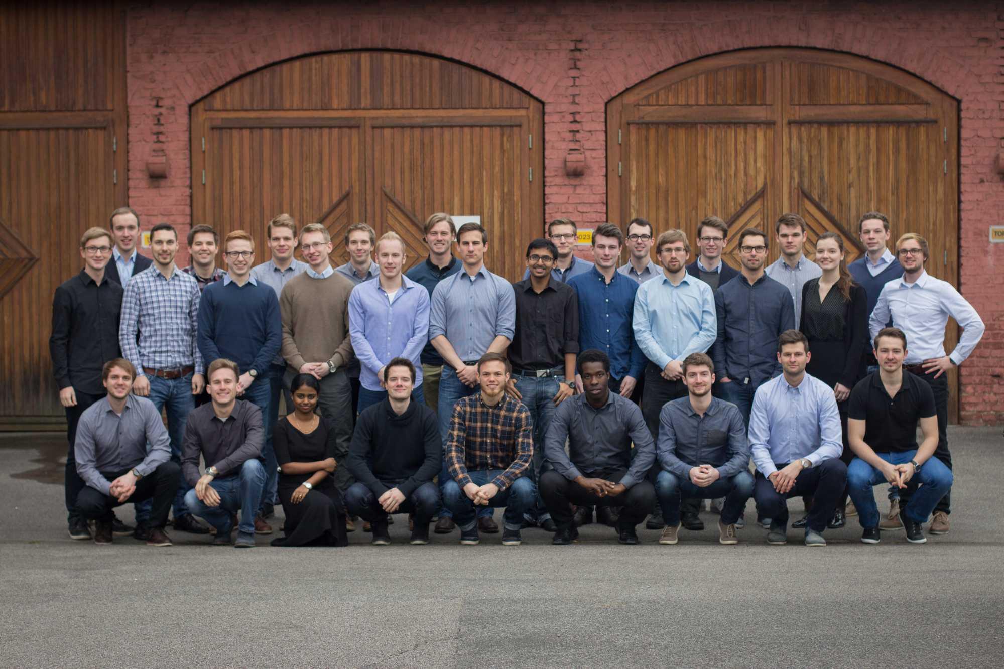 Die Mitglieder des Projekts Sonnenwagen