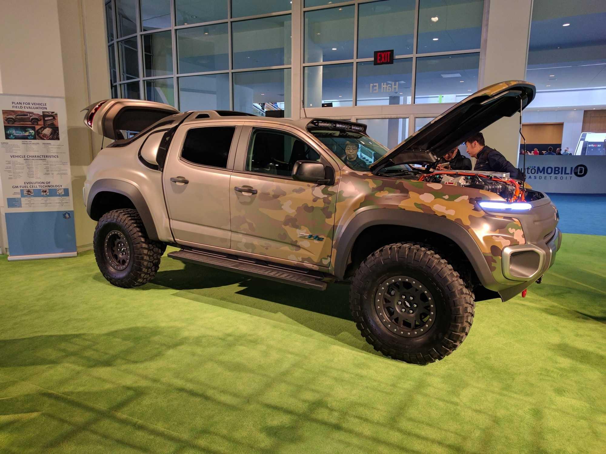 Der Elektroantrieb soll auch im militärischen Einsatz Vorteile bieten.