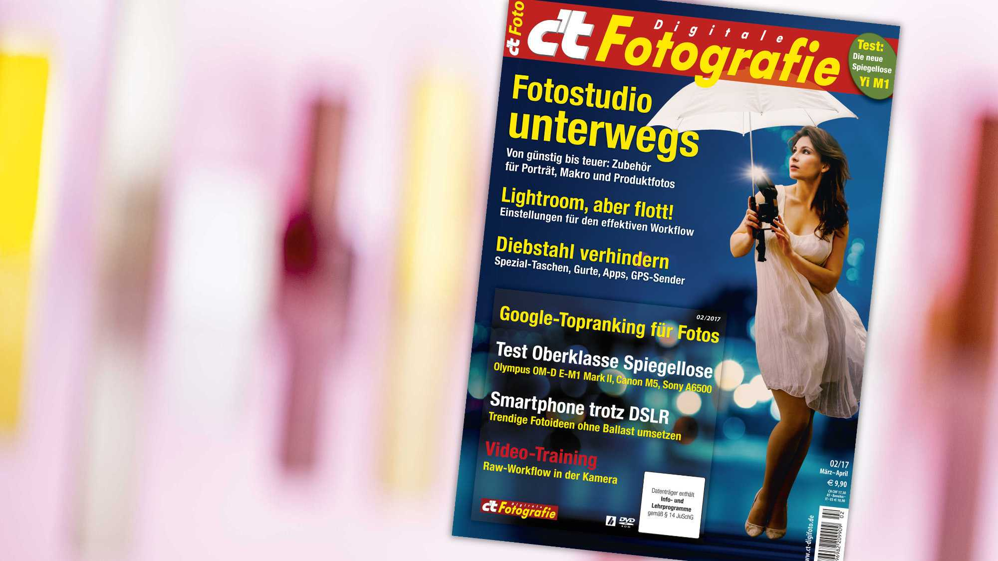 c't Fotografie: SEO mit Lightroom und Wordpress