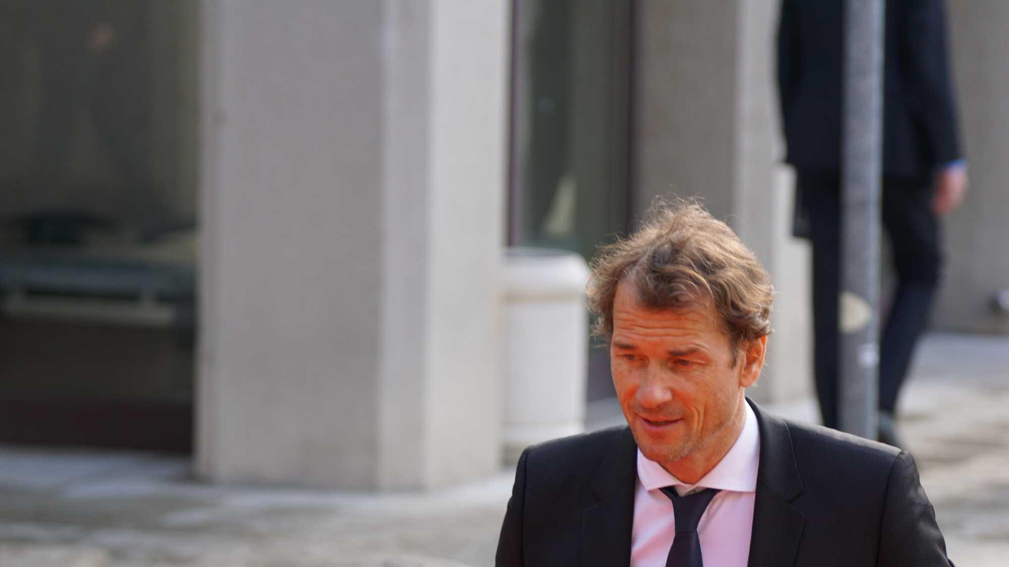 Was macht ein ehemaliger Fußball-Nationaltorhüter auf der Hannover Messe? Die Antwort gab es später bei der Verleihung des Hermes-Award.