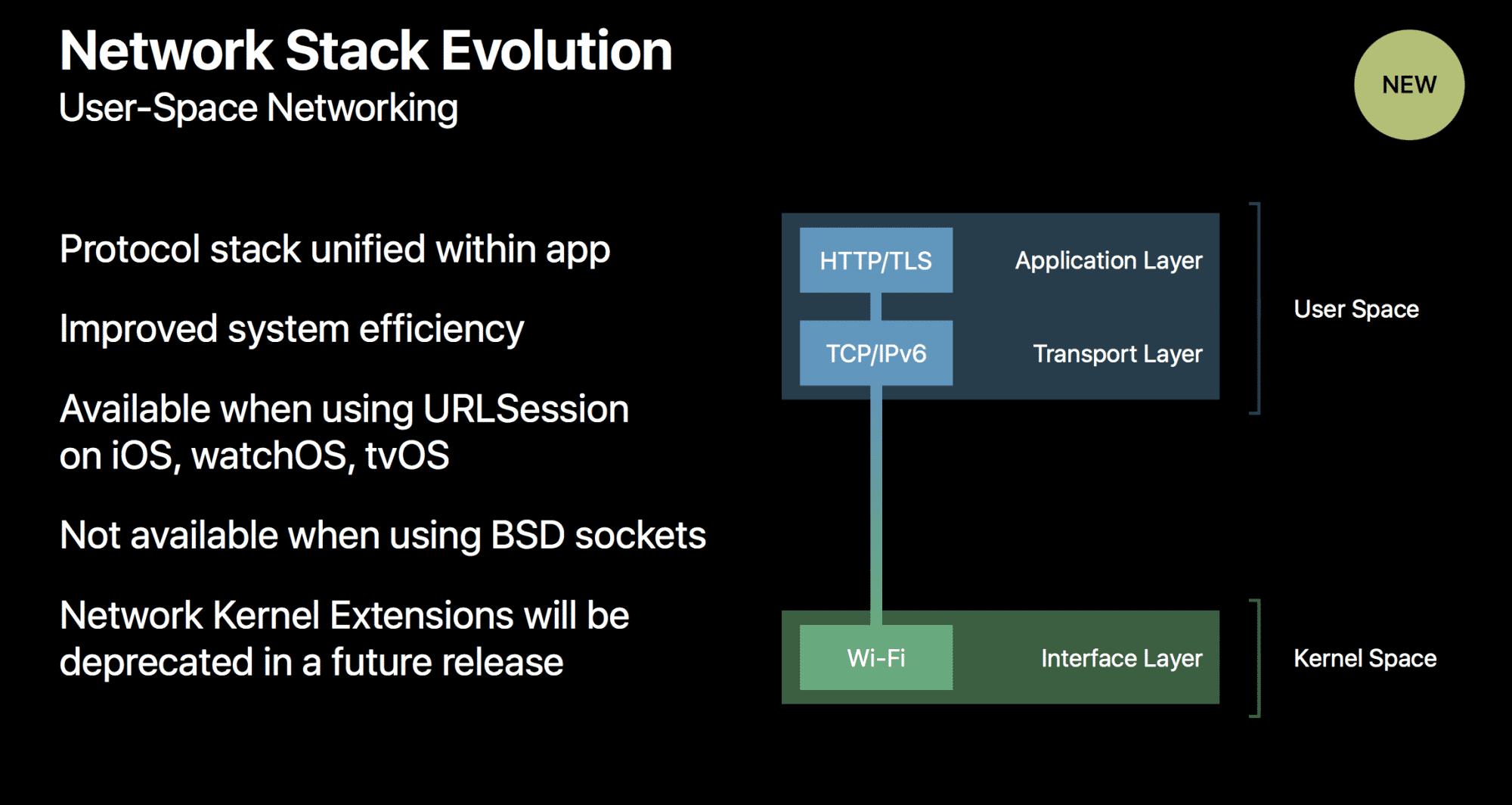 Das Aus für Network Kernel Extensions in macOS erwähnte Apple auf der WWDC –in einem Slide zu Neuerungen von iOS 11.