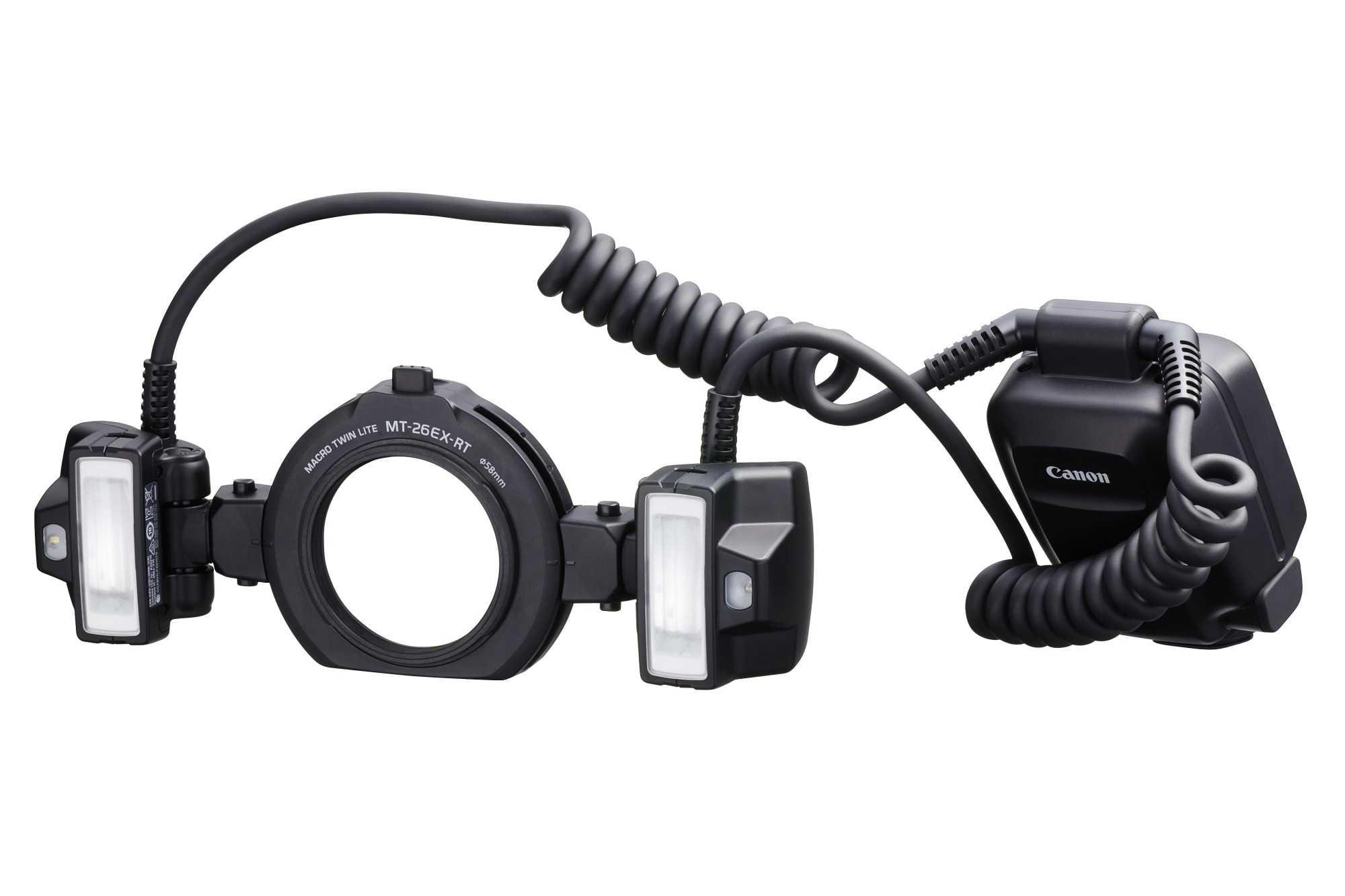 Der Spezialblitz MT-26EX-RT soll dabei helfen, Objekte im Nah- und Makro-Bereich gleichmäßig auszuleuchten.