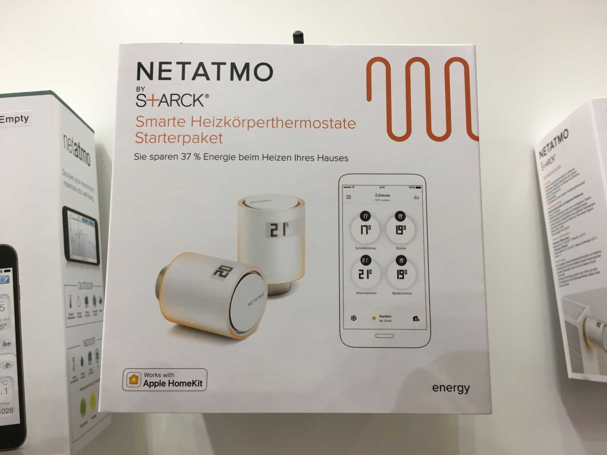 Für die neuen Heizkörper-Thermostate von Netatmo benötigt HomeKit eine Bridge als Übersetzer.