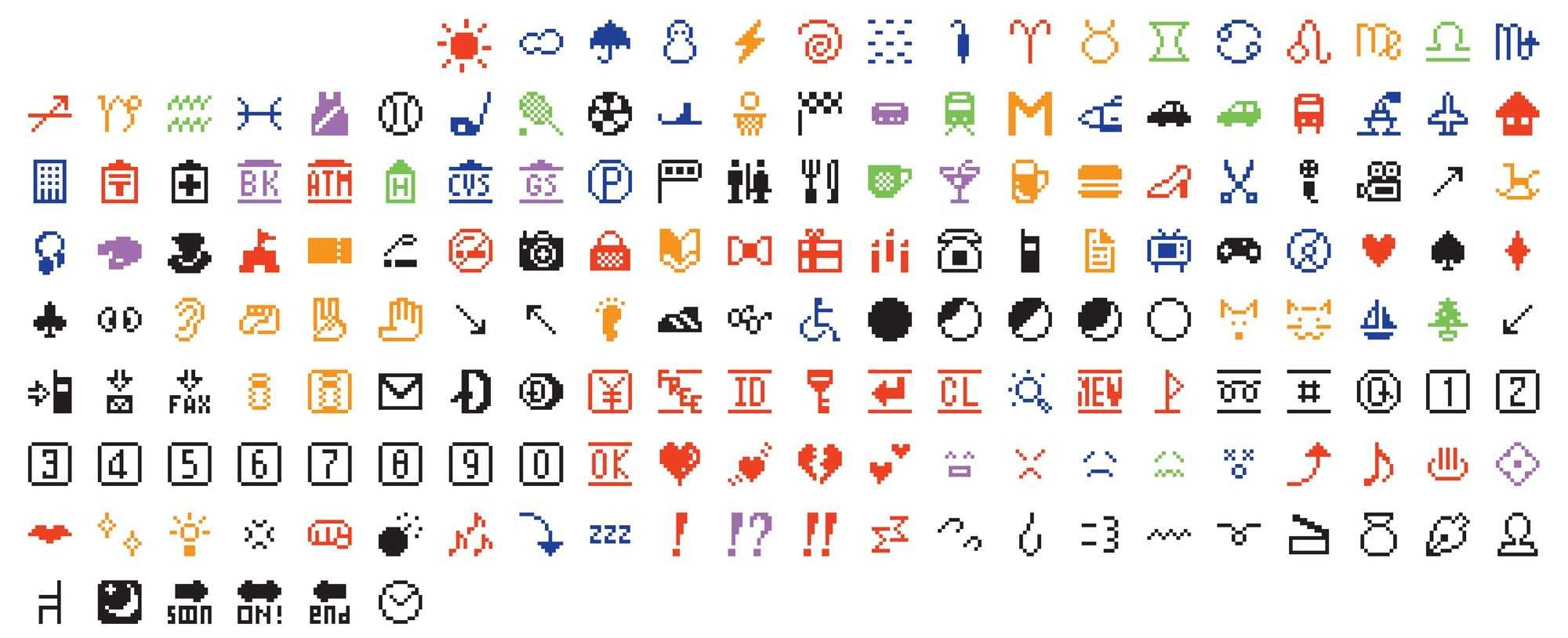 Diese 176 Emojis haben es sogar ins Museum of Modern Art geschafft.