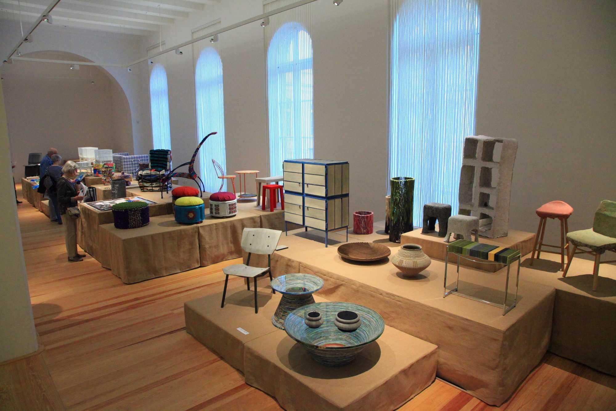 Ausstellungsraum im Hamburger Museum
