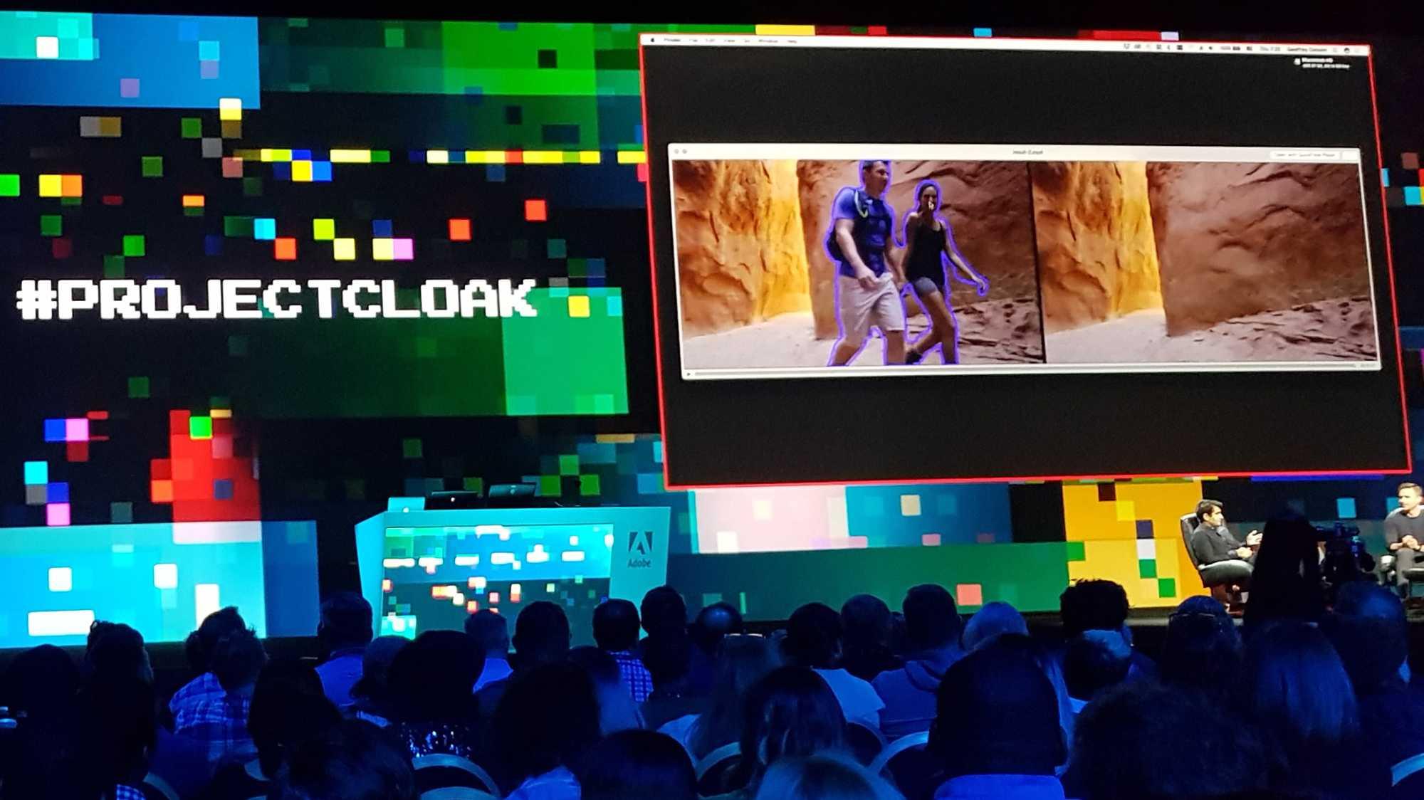 Cloak retuschiert Objekte in Videos mit erstaunlich gutem Ergebnis. Die Funktion könnte sich bald in After Effects niederschlagen.