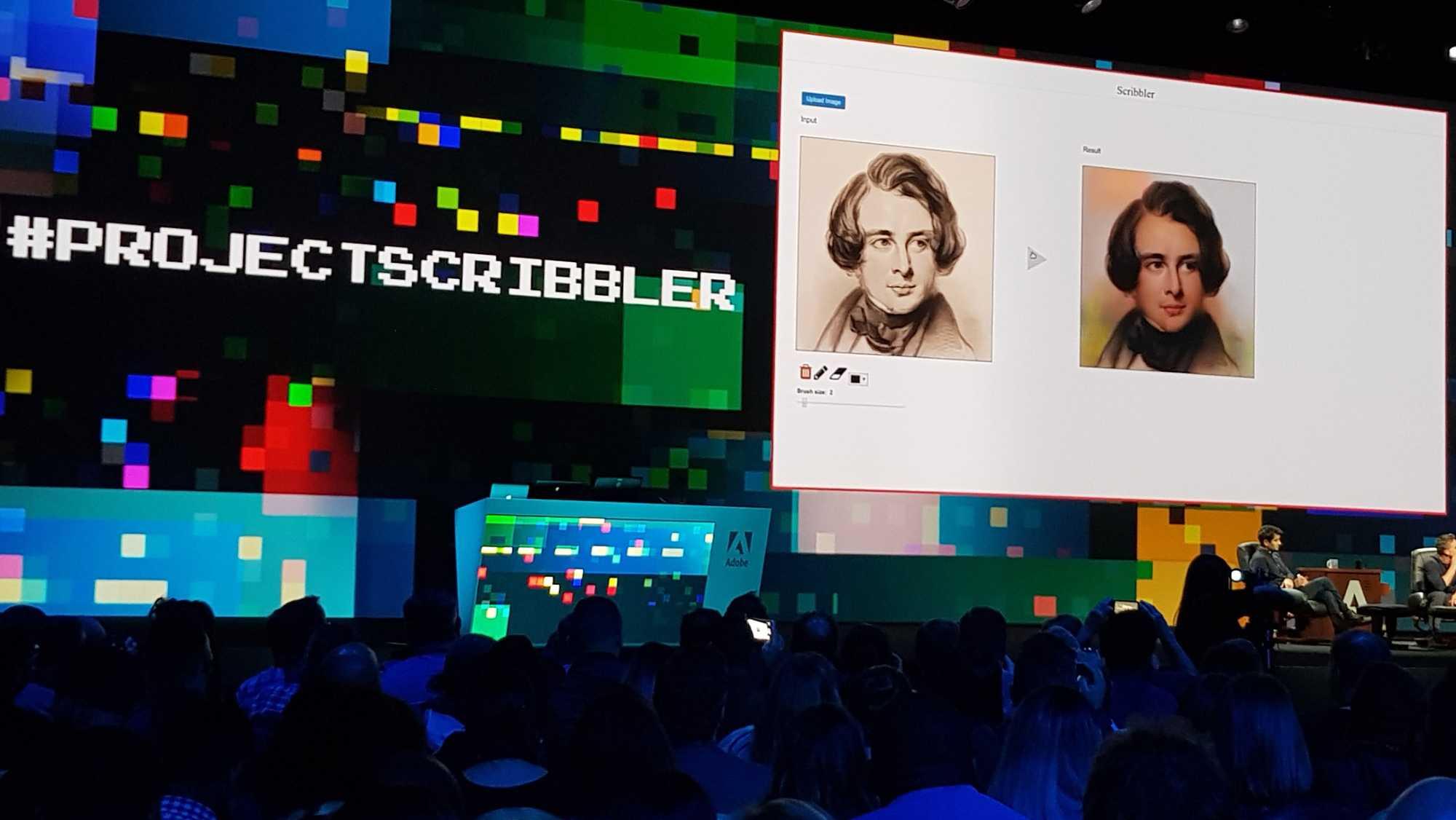 In Scribbler hilft künstliche Intelligenz beim Kolorieren von Gesichtern und anderen Objekten.